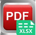 Super PDF Excel-muuntimeen