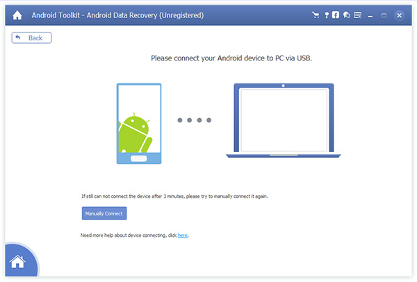 Recover deleted files from android phone.