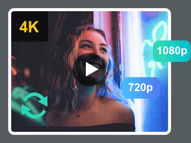 Muunna 1080p-videoksi