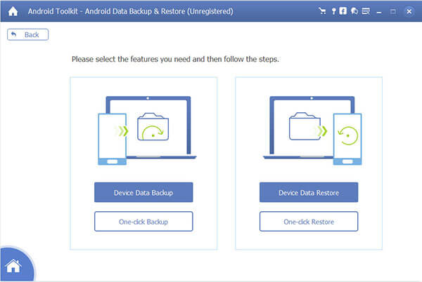AnyMP4 Android Data Backup & Restore