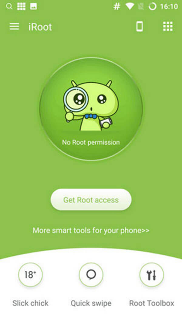Root Android phone with iRoot APK