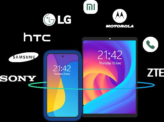 Palauta tiedot eri Android -laitteista