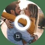 Muokkaa rajata videota