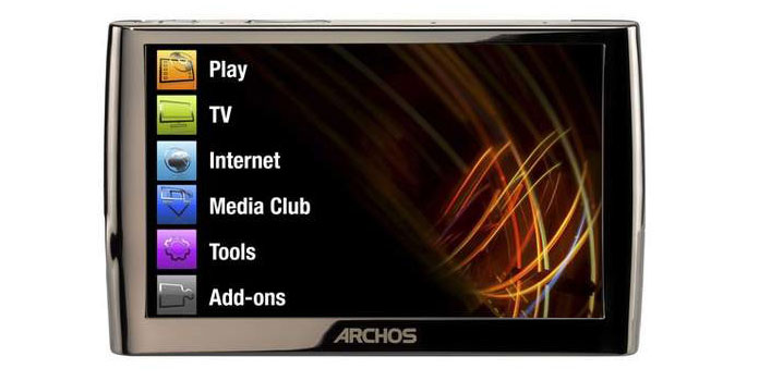 Blu-ray to Archos 9