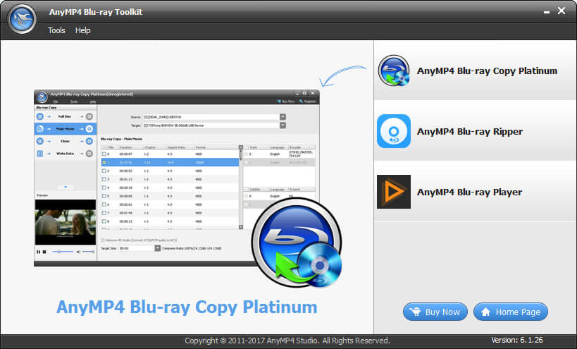 Windows 7 AnyMP4 Blu-ray Toolkit 6.1.30 full
