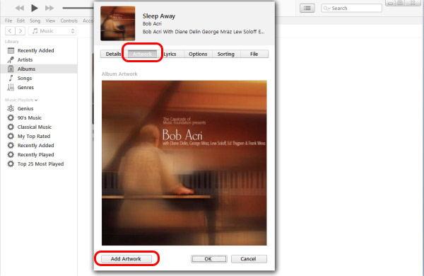 Lisää taidetta iTunesilla