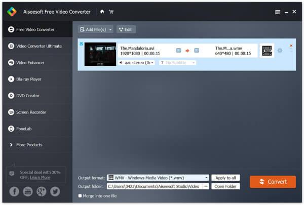 Vapaa Video Converter