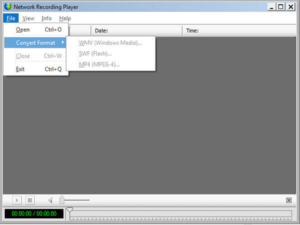 Network Recording Player