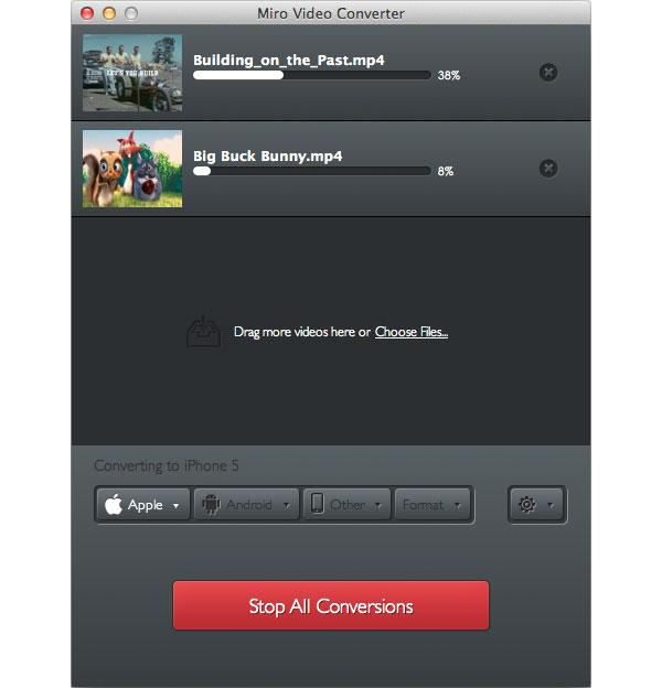 Miro Video Converter Mac