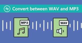 Muunna välillä WAV ja MP3