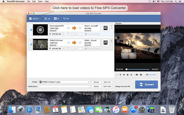 AnyMP4 Free MP4 Converter