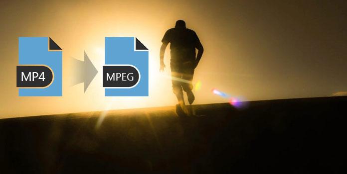 Muunna MP4 MPEG-muotoon
