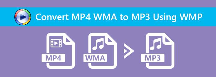 Muunna MP4 tiedostoksi MP3 käyttämällä Windows Media Playeriä