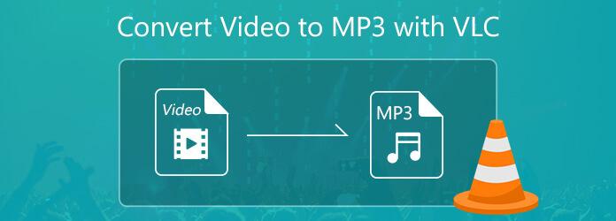 Muunna video MP3: ksi VLC: llä