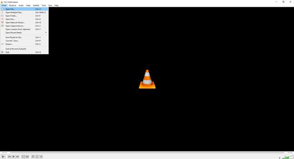 VLC-rajapinta
