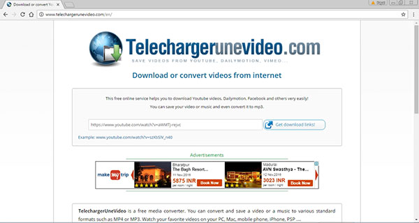 Telechargerunevideo