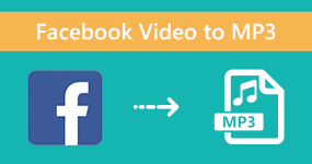 Facebook-video Mp3-tiedostoon