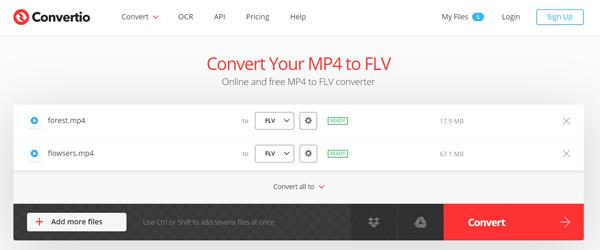 Flv Converter Online -muunnos