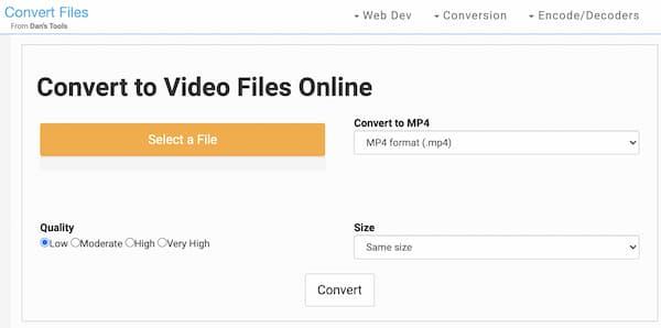 Tiedostojen muunnos GIF WMV: ksi
