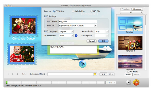 Cisdem DVD Burner 3 for Mac