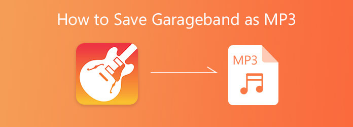 How to Save GarageBand File as MP3