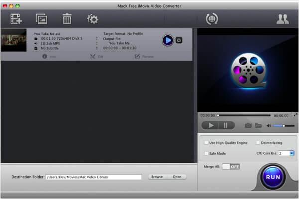 Macx-ilmainen video-muunnin