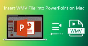 Lisää WMV-tiedostot PowerPointiin Macissa