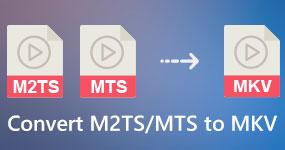 Muunna M2TS MTS -videot MKV: ksi