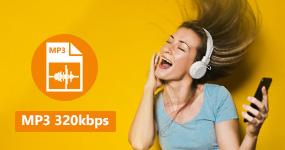 Muunna MP3 320kbps: ksi