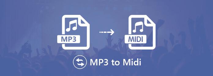 Muunna MP3 MIDI: ksi