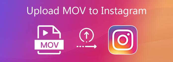 Lataa MOV Instagramiin