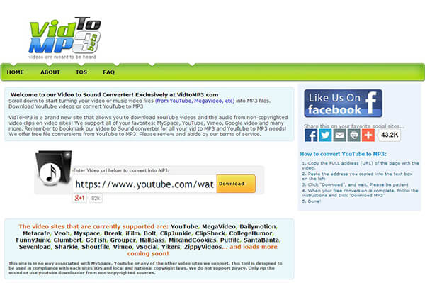 Convert Video to MP3 with The Ultimate Way and Top 10 Online