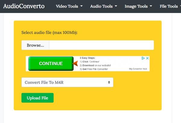 Online audioconverto