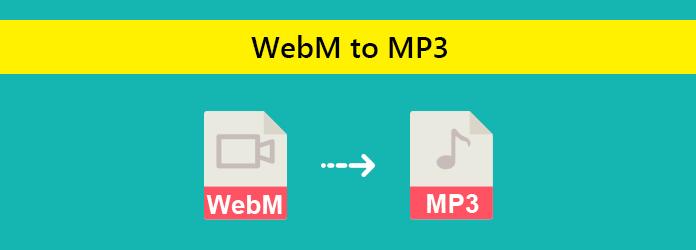 Muunna WebM MP3iksi
