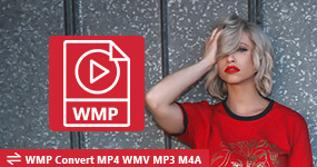Convert MP4, WMV to MP3 or WMA with WMP