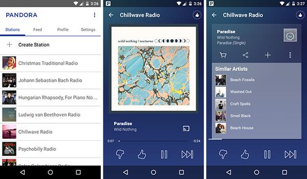 Pandora-musiikki