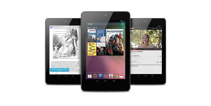 DVD Google Nexus 7: lle