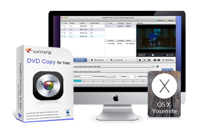 AnyMP4 Mac DVD Copy