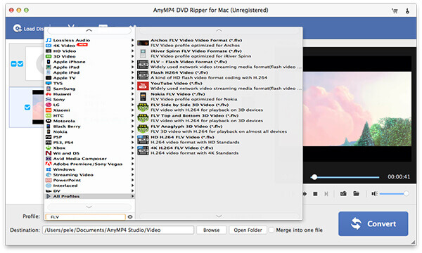 DVD Ripper for Mac screen