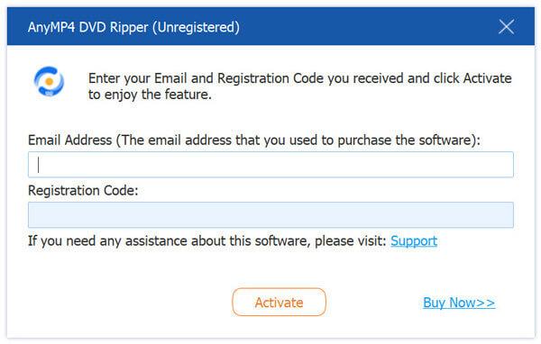 Rekisteröi DVD Ripper