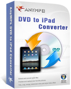 AnyMP4 DVD to iPad Converter boxshot