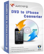 AnyMP4 DVD to iPhone Converter boxshot