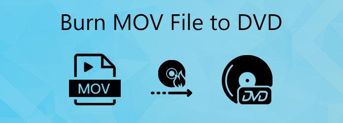 Polta MOV-tiedostot DVD-levylle