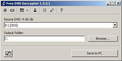 Ilmainen DVD Decrypter