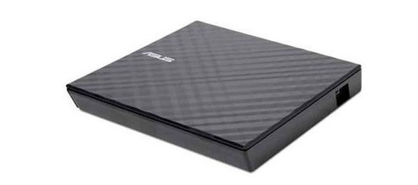Asuksen ulkoinen DVD-soitin Slim External Drive