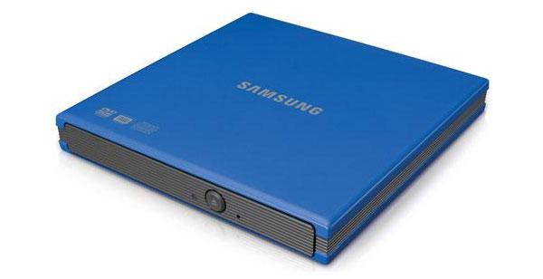 Samsungin ohut ulkoinen DVD-asema