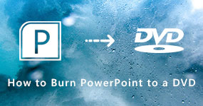 Burn a PowerPoint to a DVD
