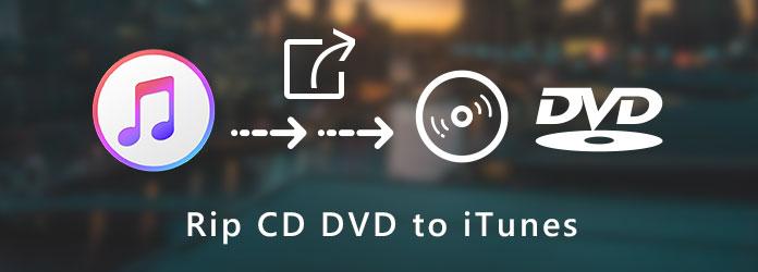Kopioi CD- tai DVD-levy iTunesiin