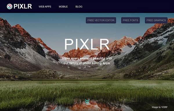 Pixlr-editori