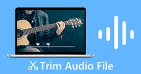 Leikkaa Trim -äänitiedostot